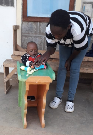 Children With Disabilities Continue To >> St Martin Csa Cppd Programme Moves To L Arche Kenya